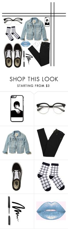 """""""Double denim 👖"""" by nikkikomo ❤ liked on Polyvore featuring Hollister Co., Yves Saint Laurent, Vans, Bobbi Brown Cosmetics and Melissa Odabash"""