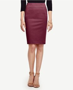 Primary Image of Seamed Pencil Skirt