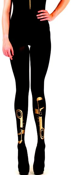 Mercury tights by Candy Baker  www.candybaker.co.uk