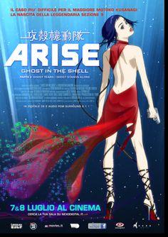 Ghost In The Shell Arise. Inedito prequel della saga di GITS, con un nuovo design dei personaggi e Kazuchika Kise alla direzione... il 7 e 8 luglio 2015 al #cinema ... #film #trailer