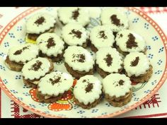 Mocca oválky - YouTube Mocca, Christmas Cookies, Muffin, Make It Yourself, Breakfast, Youtube, Food, Eten, Drinking