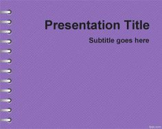 Violet School Homework PowerPoint Template is a solid violet background for PowerPoint with a very simple design that you can download for free and use in your presentations