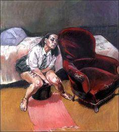 """Triptico, série """"O Aborto"""" - Paula Rego"""