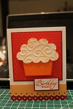 Cupcake cards (3 on this blog)