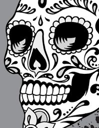 Looking for vector graphics? Vector Genius is one of the leading providers of high-end vector artwork, vector sets, scroll vectors, and many more vector graphics at affordable rates. Check out our vector clipart packs here! Sugar Skull Tattoos, Sugar Skull Art, Sugar Skulls, Skull Reference, Halloween Acrylic Nails, Birthday Tattoo, Day Of The Dead Skull, Mexican Art, Skull And Bones