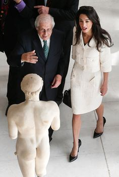 """""""I'm sorry I can't talk right now, Greece hired me to try and get pieces of Parthenon back from the British Museum. Haven't we all been there?"""" 