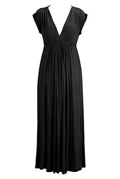 eShakti Women's Empire waist maxi knit dress 3X-26W Short Black eShakti http://www.amazon.com/dp/B00LO822KI/ref=cm_sw_r_pi_dp_7SEWtb0B67WB5X7H