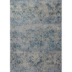 Magnolia Home Furniture 2 x 4 X-Small Gray & Blue Rug - Kivi