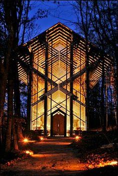Thorncrown Chapel in Eureka Springs