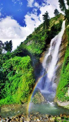 CHAM waterfalls in Azad Kashmir - Pakistan