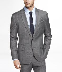 #MensClass Plaid photographer suit jacket #OfficeThreads