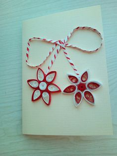 Easy Crafts, Diy And Crafts, Flowers For Mom, 8 Martie, Quilling Art, Baba Marta, Projects To Try, Gift Wrapping, Simple