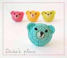 Dada's place: Little teddy bears