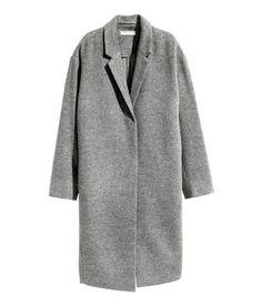 Cashmere-blend Coat | Gray | Ladies | H&M US