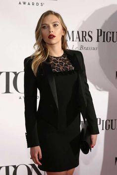 Scarlett Johansson-Style Zoom 2013 Tony Awards
