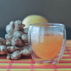 grapefruit-ginger vodka toddy