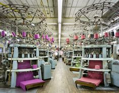 Fall River Knitting Mills, Fall River, Massachusetts; A Photographic Celebration of America's Vibrant Textile Industry by Christopher Payne