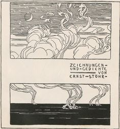 Narrative and illustrations by Ernst Stöhr, from the periodical Ver Sacrum (Mittheilungen der Vereinigung Bildender Künstler Österreichs), December 1899