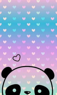 Panda Wallpapers Fondosparacelular Phone Love Corazones Wallpaper Pastel
