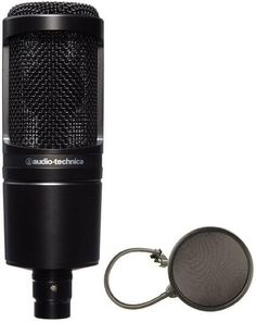 Audio-Technica AT2035: For the home studio, project and professionals.