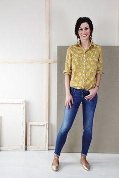 Classic Shirt Sewing Pattern   Shop   Oliver + S