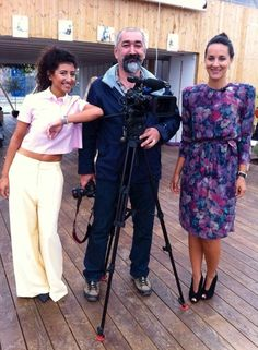Interviewed by the Romanian National Television for Lumea si Noi!  More on www.skipaheartbeat.dk