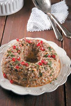 20+5 προτάσεις για το χριστουγεννιάτικο τραπέζι - www.olivemagazine.gr Bagel, Main Dishes, Wedding Cakes, Food And Drink, Cooking Recipes, Bread, Dinner, Ethnic Recipes, Christmas Recipes