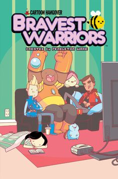 "BRAVEST WARRIORS #14 Price: $3.99  Author(s): Joey Comeau  Artist(s): Mike Holmes Things are never easy for the Bravest Warriors, it's probably what makes them so gosh darn likable. This issue isn't just another ""will they, won't they"" between Beth and Chris (answer: socks), it's another mission where the Bravest Warriors will get to bring their unique personalities together to overcome all obstacles in their way!"