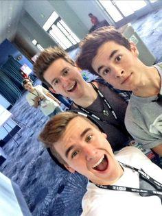 Kian, Connor, Sam, & Ricky at Vidcon