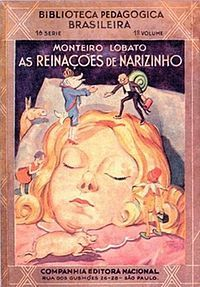 Reinações de Narizinho: Brazil. A girl has many fantasies and adventures with friends in her grandma's country house