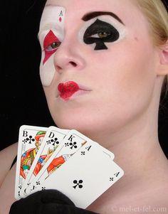 Bildergebnis für schminkschablone spielkarten