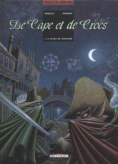 De cape et de crocs : 1. Le secret du janissaire Paru en 2002 aux éditions Delcourt par Alain Ayroles