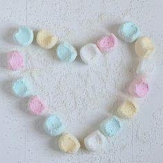 «Coconut marshmallows. Taste testing :) #marshmallows #coconut #pastel»
