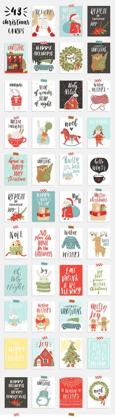 18 Printable Cute and Beautiful Christmas Sticker – mybabydoo - Weihnachten Noel Christmas, Christmas Design, Christmas And New Year, Winter Christmas, Christmas Crafts, Christmas Decorations, Christmas Letters, Christmas Stickers, Christmas Printables