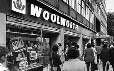 Woolwoth dropped the F. W. from its fascia design in the 1970s.