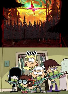 Nice!! Wish more were like this! Loud house and gravity falls crossover!