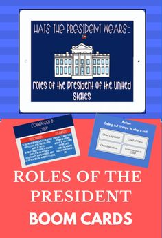 This is a 20 slide interactive boom lesson on Presidential Roles. Read about different presidential roles and watch a video embedded. There are interactive short answer and multiple-choice questions. Your students will love it! Perfect for distance learning!