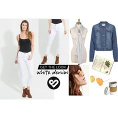 Get The White Denim Look Silver Icing, Stylist Pick, White Denim, Get The Look, Online Boutiques, Stylists, Pants, Fashion, Trouser Pants