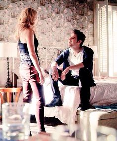 Stefan and Caroline - The Vampire diaries #TVD #Steroline