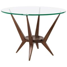 Organic Low Table, Italy, 1950s | From a unique collection of antique and modern coffee and cocktail tables at https://www.1stdibs.com/furniture/tables/coffee-tables-cocktail-tables/