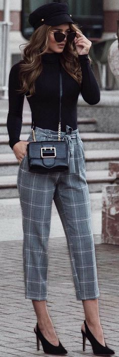 101 On How To Style Unbelievable Check Trousers The Hottest http://ecstasymodels.blog/2017/10/30/101-style-check-trousers-hottest/