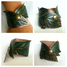 Leaf Bracelet for woodland elf look