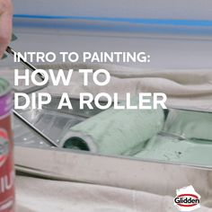 Taking on your first paint project? Learn the basics with these how to videos. Check out homedepot.ca for even more paint ideas + tips. Best Ceiling Paint, Ceiling Painting, House Painting, Paint Colors For Home, House Colors, Paint Colours, What Is Chalk Paint, Home Depot Paint, Paint Furniture