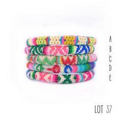 Peruvian bracelets I Love Jewelry, Diy Jewelry, My Heart, Textiles, Wool, Bracelets, Pattern, Bags, Jewels