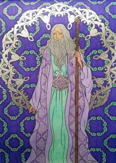 """Mon druide du """"Pays des merveilles"""""""