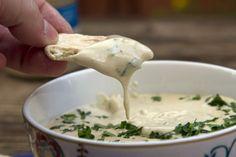 TAXINOSALATA Nicoise, Dessert Recipes, Desserts, Dips, Grilling, Veggies, Cheese, Ethnic Recipes, Food