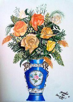 6. Sárga rózsa