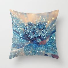 Her Winter... Throw Pillow by Lisa Argyropoulos - $20.00