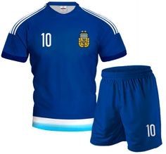 ARGENTINA AWAY 2015/16 Football Kit With Custom Name and Number