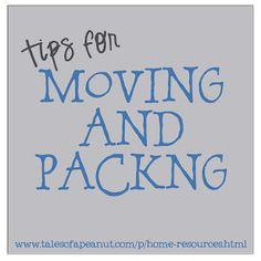 Moving and Packing || Tales of a Peanut